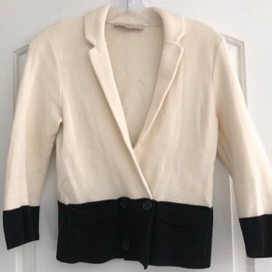 Ann Taylor Loft cotton blazer-like jacket